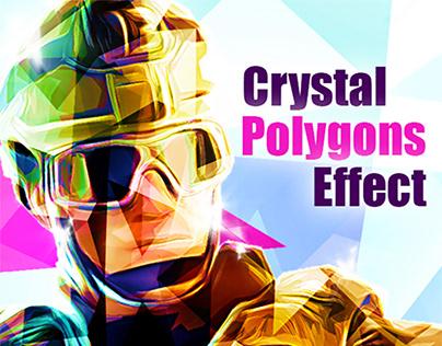 Crystal Polygons Effect
