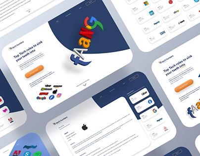 Top Tech Recruitment Agency Web UI