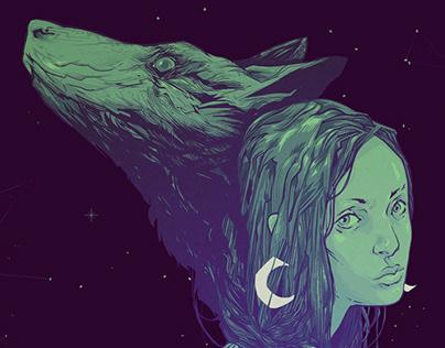 Hysteria Lunar / Album Cover