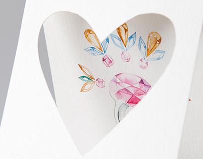 St.Valentine's Post Hearts