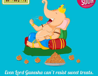 Ganesh Chaturthi Concept Social media Post