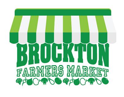 Brockton Farmers Market - Logo and Poster