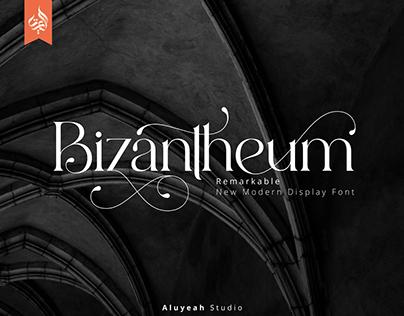 FREE | Bizantheum Modern Display Font