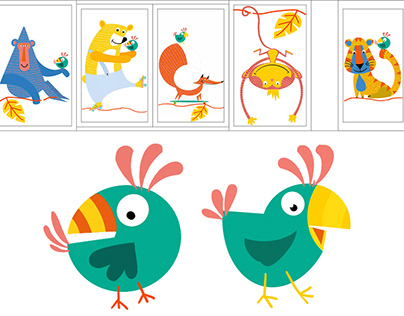 Illustrations for children's hospital