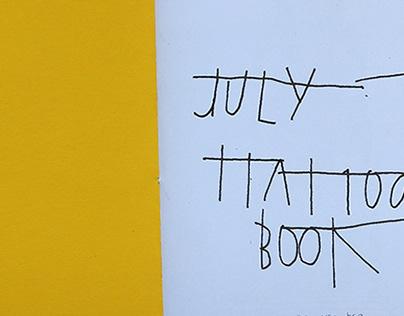 JULY tattoo book