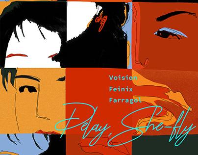 """喜辰晨""""Play,She-fly"""" 单曲Cover"""