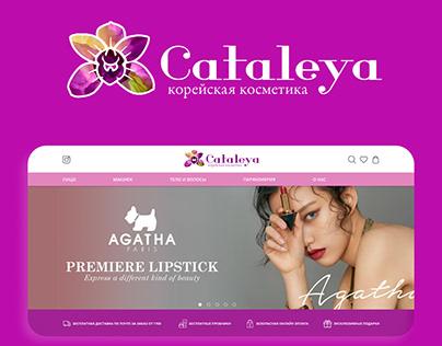 Korean cosmetics store