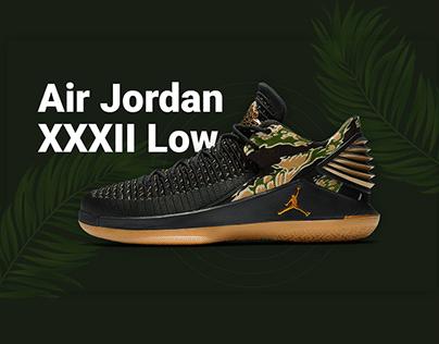 Landing Page Air Jordan