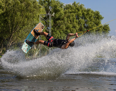 Wakeboard photography