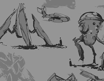 Sketches, Spaceships & Doodles