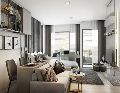 The Rhythm Condominium - 33 sqm
