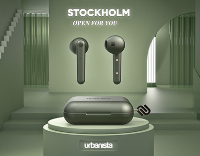 Urbanista 'Stockholm' | Product Animation