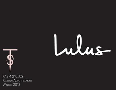 Lulu's Mock Ad