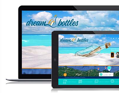 Dreambottles. Branding and UX Design