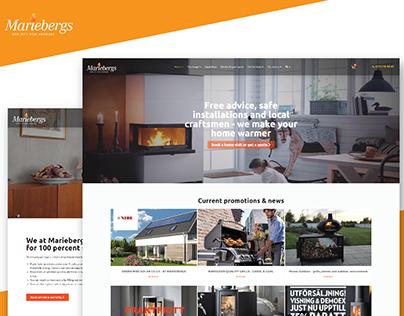 Mariebergs- Website Development