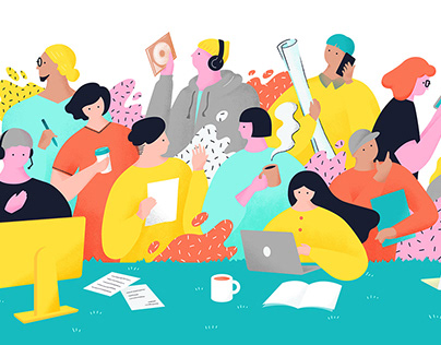 """Community site for freelancers""""New way of working LAB"""""""