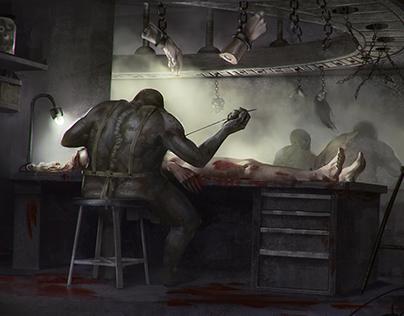 A horror factory