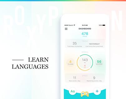 ROXY PENGUIN   Language Learning App