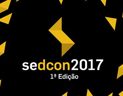 Marca desenvolvida para o evento SEDCON2017.
