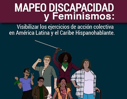 Mapeo discapacidad y feminismos · FAU