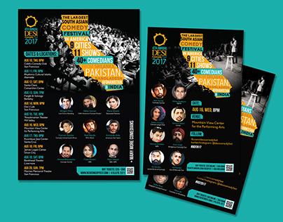Marketing Campaign Design -Desi Comedy Festival