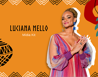 Mídia Kit - Luciana Mello
