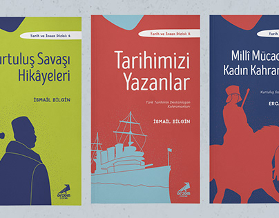 Children Book Cover Design | Tarih ve İnsan Dizisi