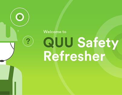 Queensland Urban Utilities Work Health Safety Training