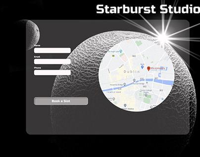 Starburst Studios Homepage