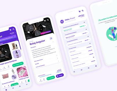 Elenas (Mobile App UX)