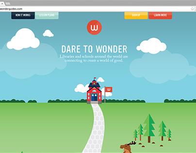 KIDNECTED WORLD // WONDER GUIDES WEBSITE