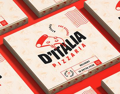 D'Italia Pizzaria   Rebranding