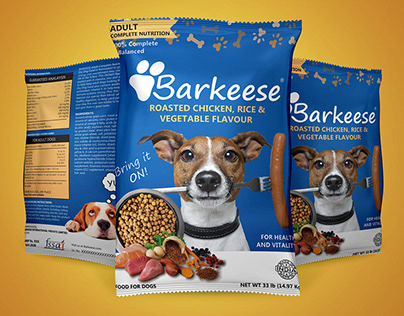 Packaging Design For Dog Food