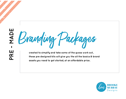 Website Premade packages
