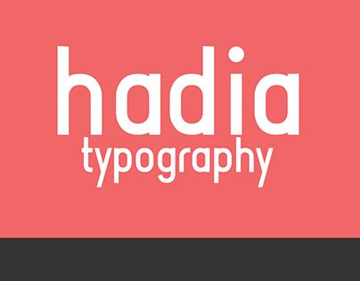 Hadia Typography