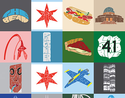 100 Days of Chicago Typography