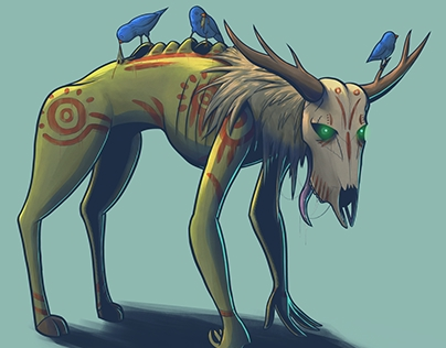 Original creature design