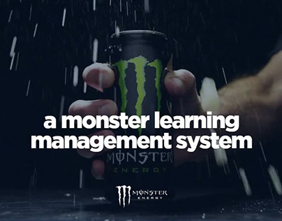 Monster Energy Team Gear on Behance