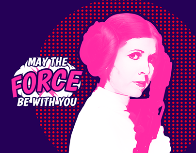 The Force film club | A Pop Art stationery