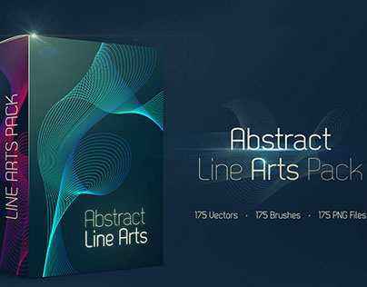 175 FREE Abstract Line Art
