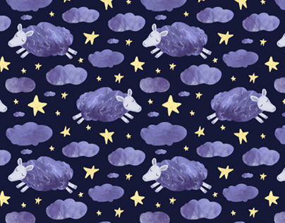 """Patterns Collection """"fall Asleep baby"""""""
