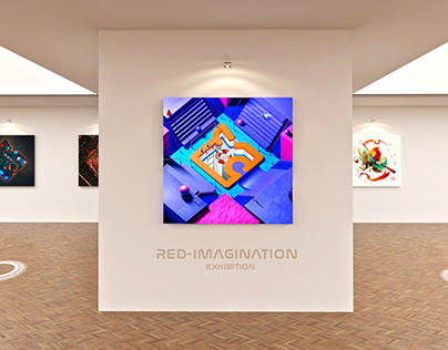 RED-IMAGINATION: Virtual Collaborative Exhibition