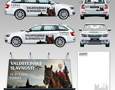 Valdštejnské slavnosti Frýdlant - vizuály