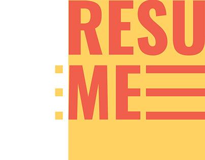 Curriculum Vitae/ Resume