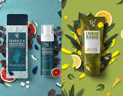 White Orchard Branding and Cosmetic Packaging