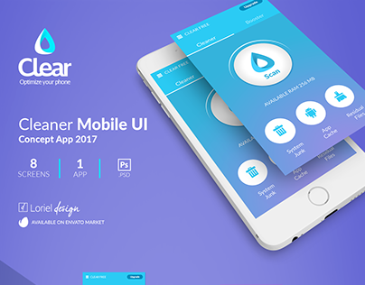 Clear - Cleaner Mobile Ui
