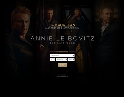 The Macallan Masters Of Photography - Annie Leibovitz
