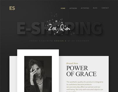 Web Design for E-Shopping
