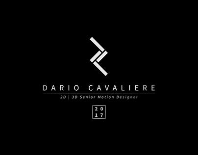 ShowReel 2017 - Dario Cavaliere