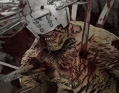Walking Dead Fan Art - Wilson